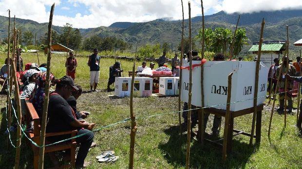 KPU: Yang Dibakar di Papua Surat Suara Tak Terpakai