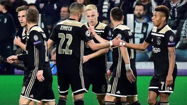 Ajax Amsterdam tampil brilian untuk menjegal Juventus
