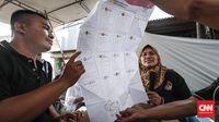 Real Count KPU 4,6 Persen: Jokowi 54,8, Prabowo 45,1