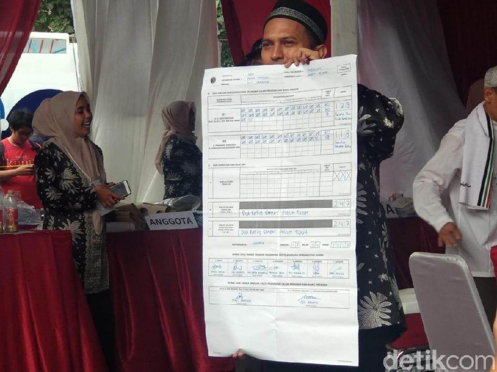 Jokowi Unggul Tipis dari Prabowo di TPS Megawati