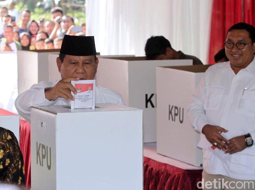 BPN Klaim Menang, Prabowo Disebut Minta Pendukung Tetap Tenang