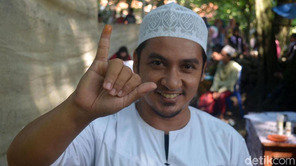 TPS di Cirebon Gunakan Kunyit Sebagai Pengganti Tinta Pemilu