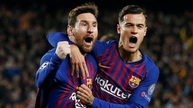 Philippe Coutinho seharusnya tak perlu khawatir berlebihan saat bermain bersama Lionel Messi.