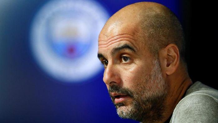 Trofi juara Liga Champions bukan tujuan utama Josep Guardiola di Manchester City. (Foto: Jason Cairnduff/ Action Images via Reuters)