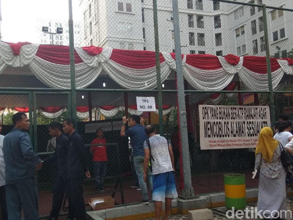 Jokowi-Maruf Amin Menang Total di Apartemen Kalibata City