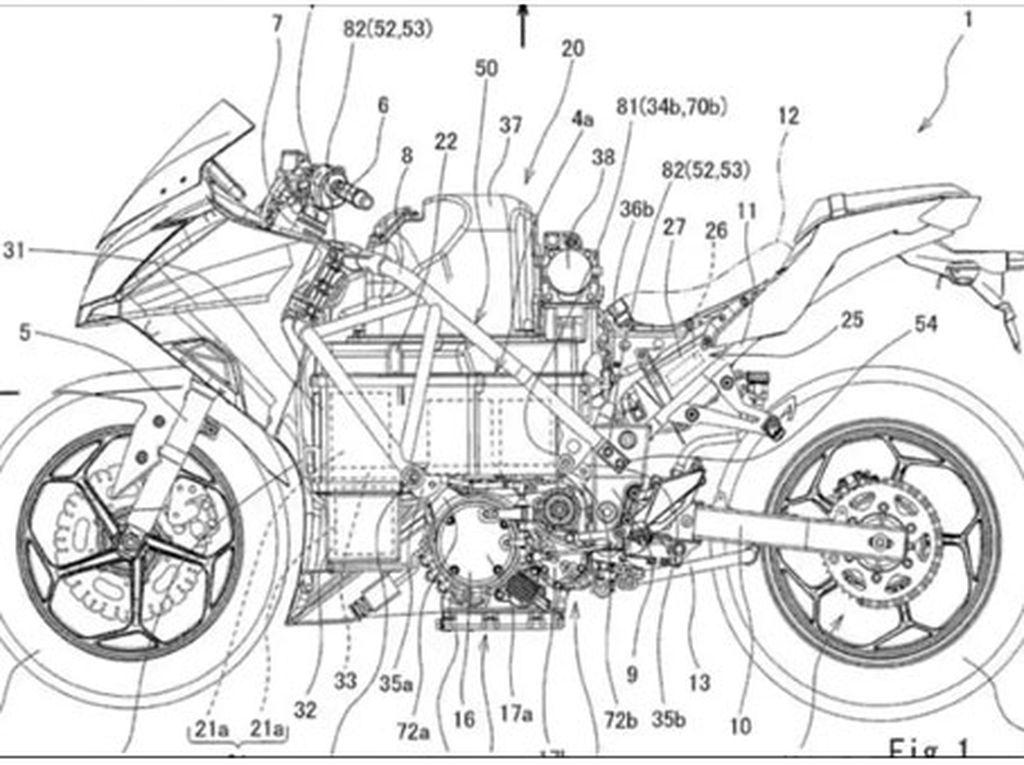 Saat Kawasaki Ninja 400 Jadi Motor Listrik