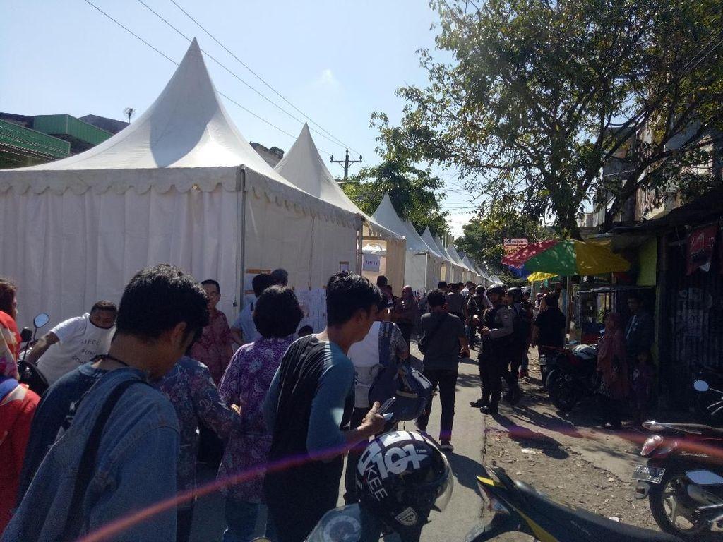 Video TPS di Makassar yang Mirip Pasar Kuliner