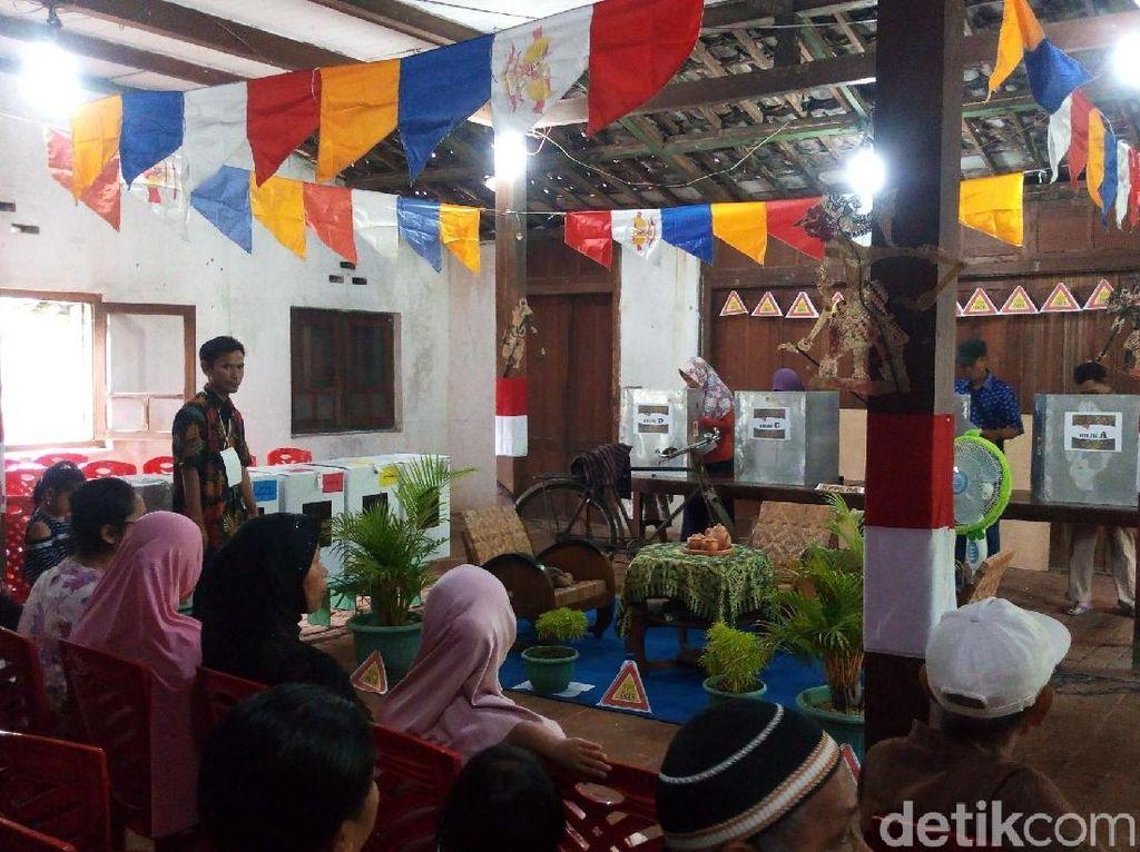 Unik! TPS di Kabupaten Semarang Ini Bernuansa Jawa Klasik