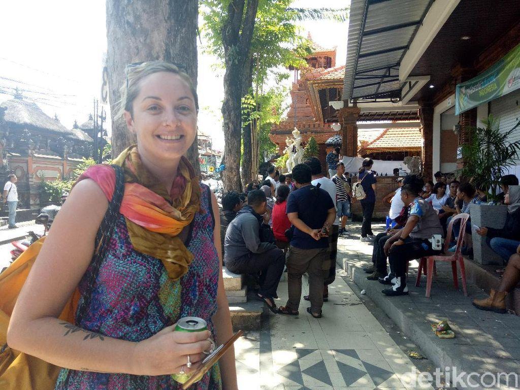 Pemilu di Bali Jadi Tontonan Turis