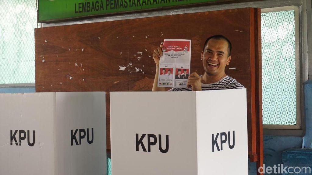 Saipul Jamil Girang Bisa Nyoblos di LP Cipinang