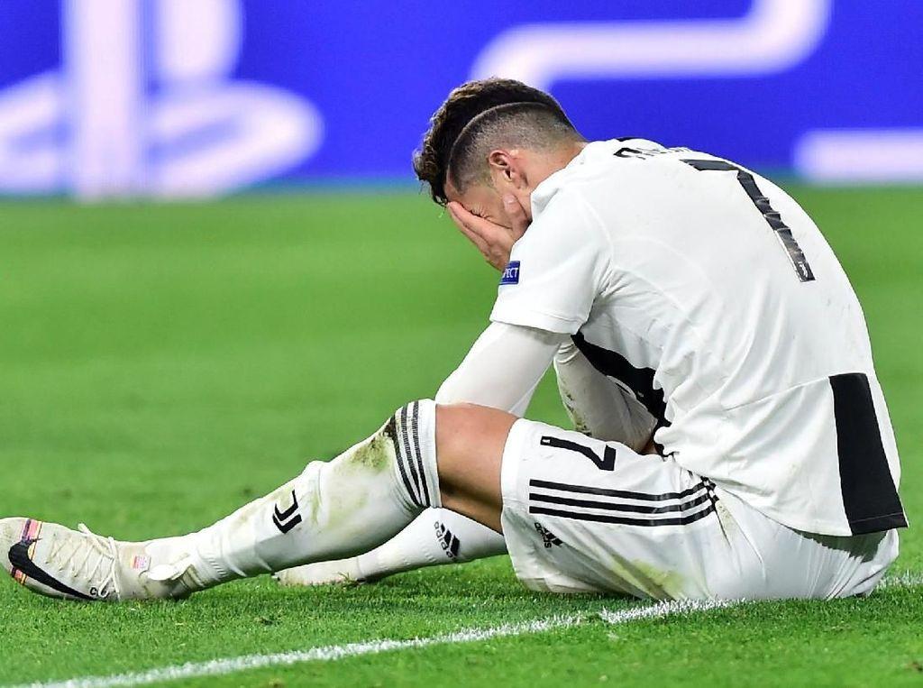 Ronaldo Tak Kuasa Selamatkan Juventus