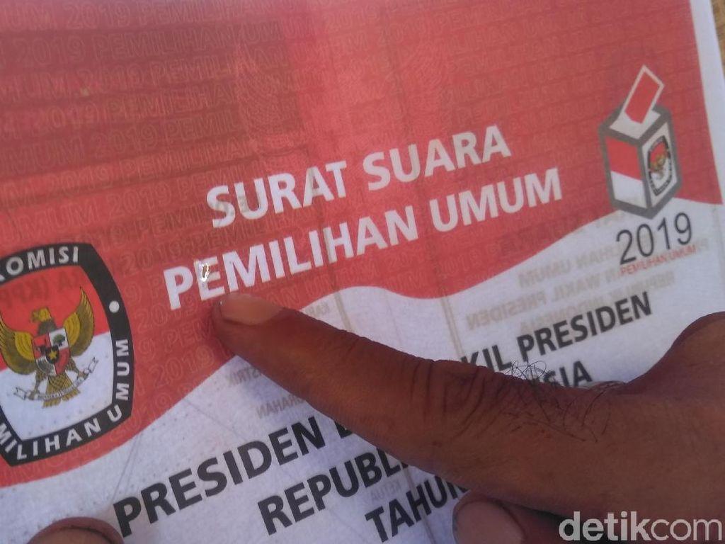 Viral Surat Suara di Surabaya, Panwas: Bukan Tercoblos Tapi Rusak