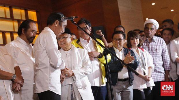 Quick Count, Jokowi Tak Berlebihan Prabowo Mau Menang Sendiri