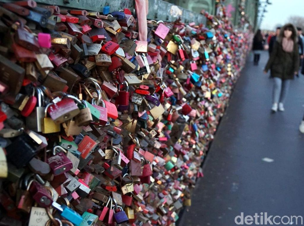 Foto: Gembok Cinta Abadi Kota Cologne