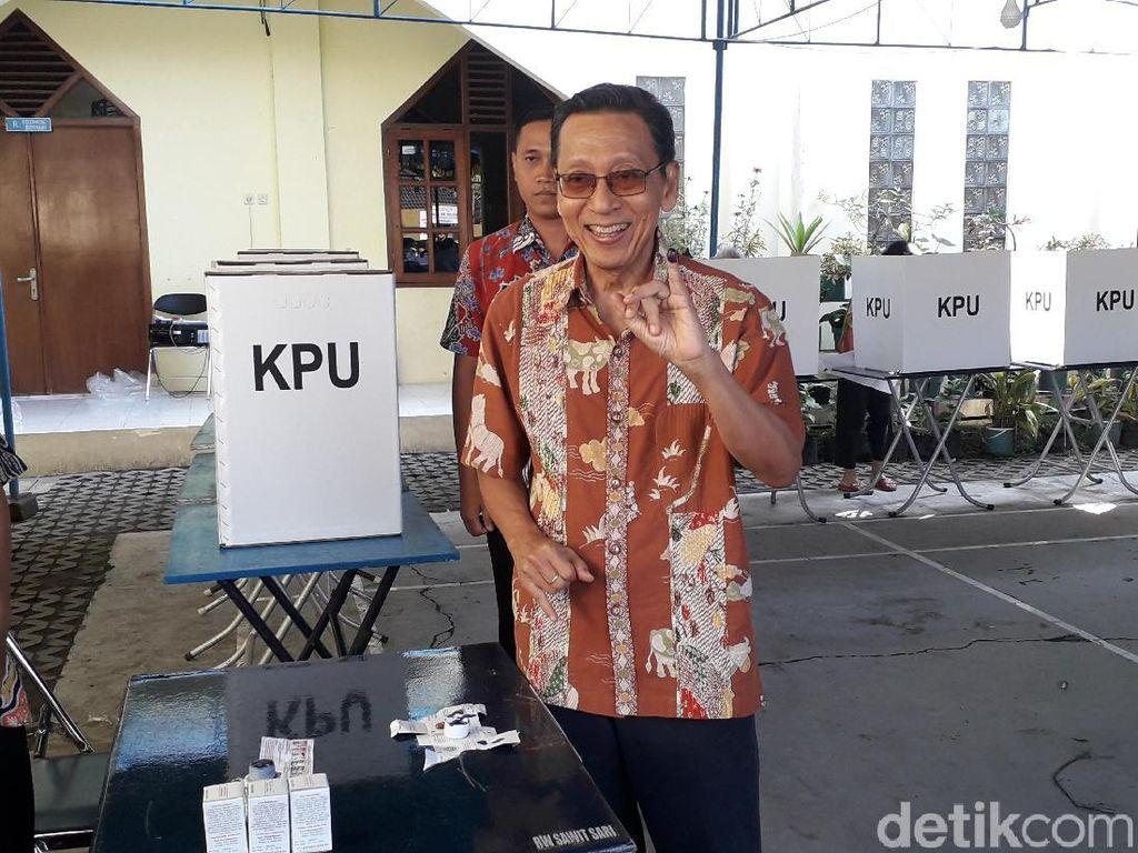 Mantan Wapres Boediono Berpesan Setelah Pemilu Semua Menyatu