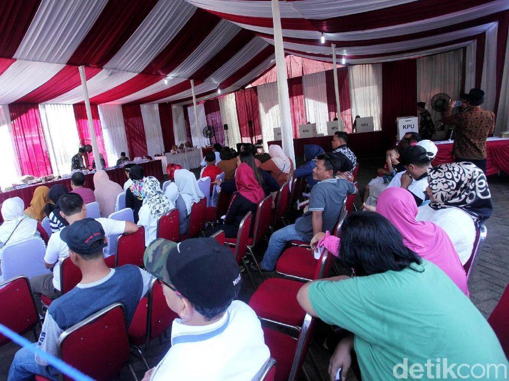 Begini Suasana TPS 62 Tempat Megawati Nyoblos