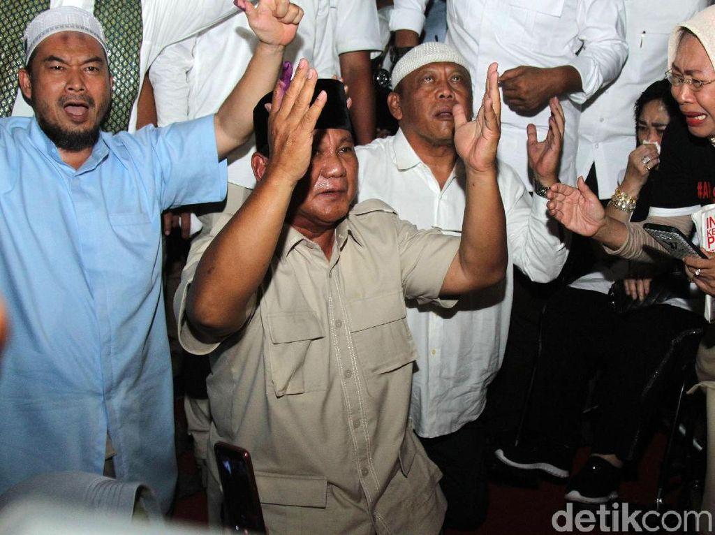 Prabowo Klaim Menang, PAN Menghilang