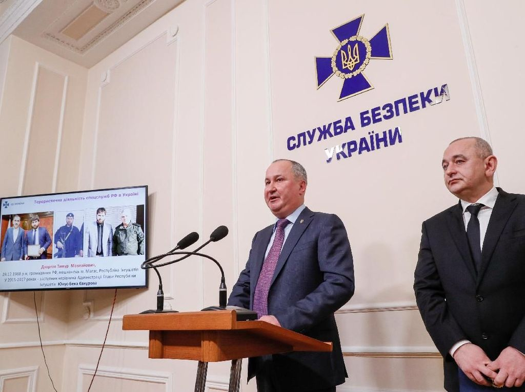 Ukraina Klaim Tangkap Tim Pembunuh yang Dikirim Intelijen Militer Rusia