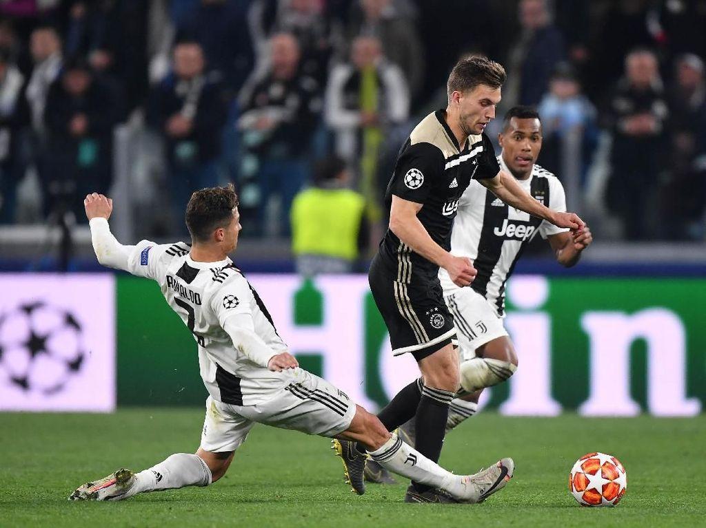 Redam Badai Juventus, Ajax Mestinya Bisa Kunci Kemenangan Lebih Cepat