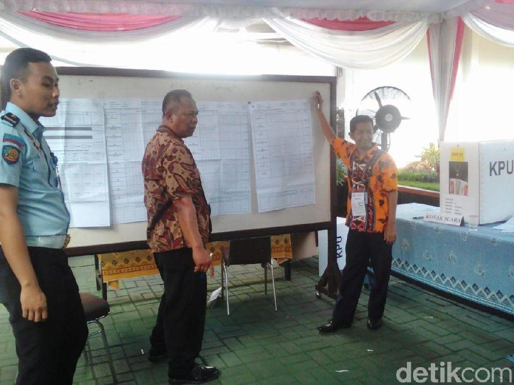 Jokowi Ungguli Prabowo di Rutan Medaeng Tempat Dhani dan Vanessa Angel Nyoblos