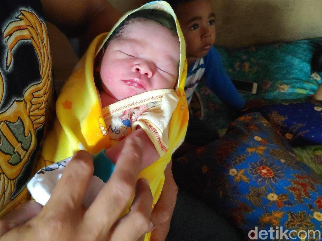 Lahir Usai Pencoblosan, Bayi Diberi Nama Wimar alias Jokowi-Maruf