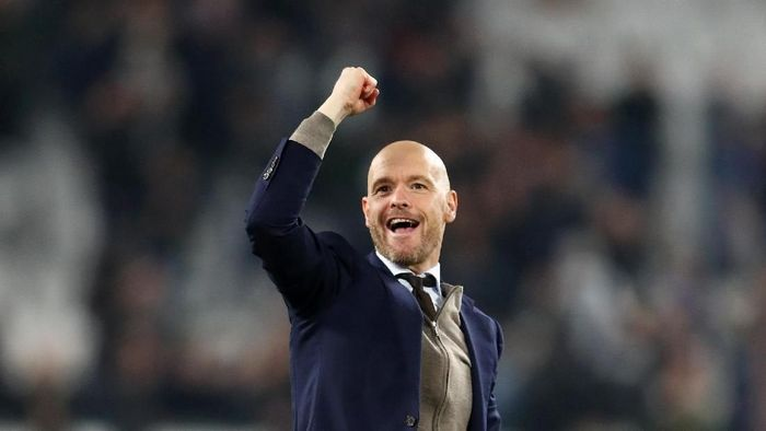 Erik ten Hag membawa Ajax ke semifinal Liga Champions. (Foto: Michael Steele/Getty Images)