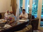 Menu Sarapan Maruf Amin dan Istri Sebelum Nyoblos