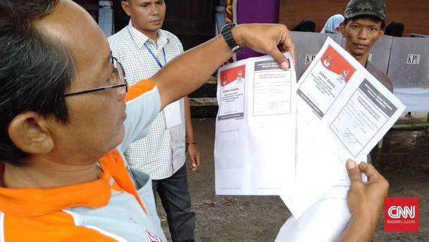 Pemilu di Banyuasin, Logistik Telat Hingga Surat Suara Hilang