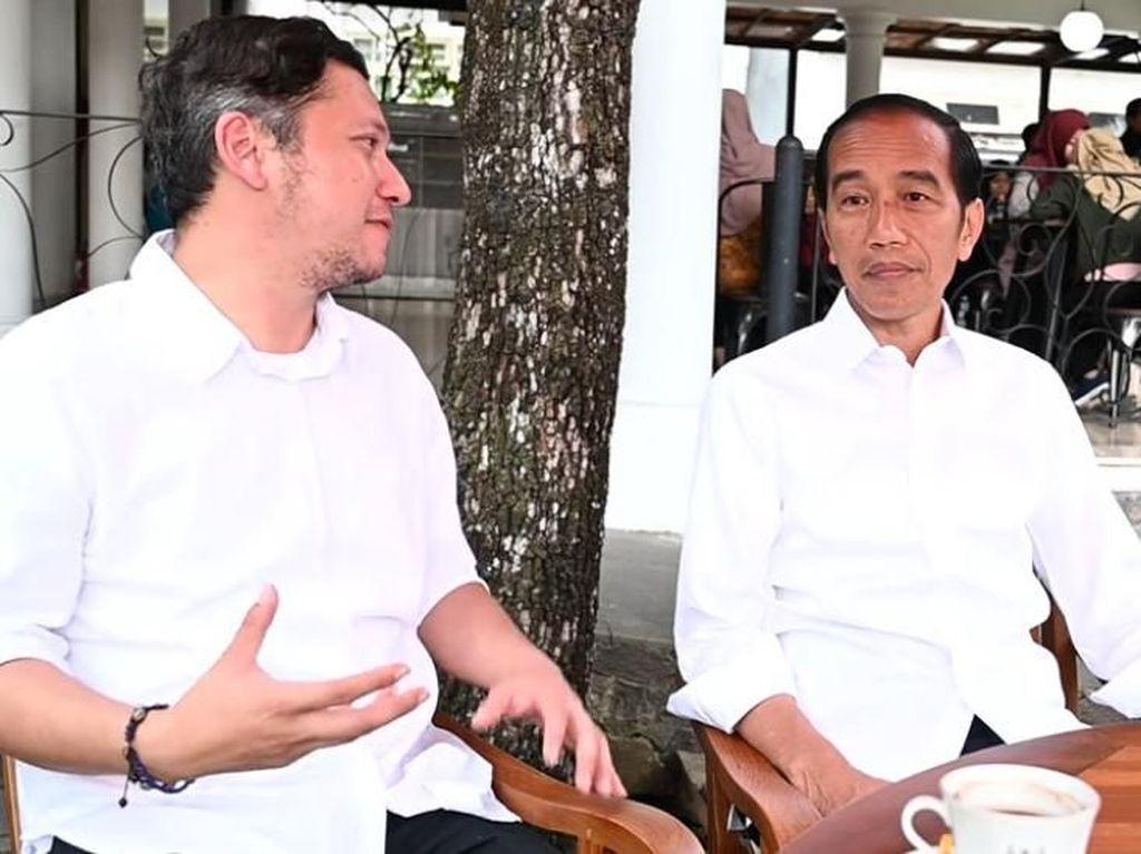 Gading Marten ke Jokowi: Pak Tolong Pimpin Negara Kita Ini Satu Kali Lagi