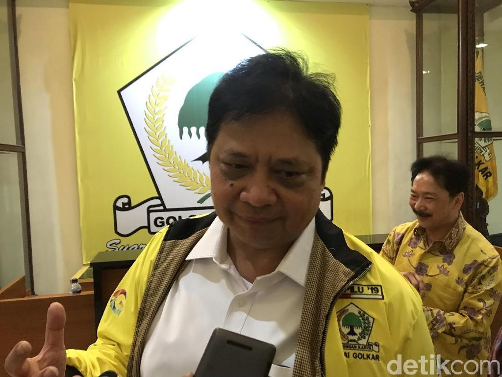 Soal Peluang PD-PAN Gabung Koalisi, Ketum Golkar Bicara Kekuatan di Parlemen