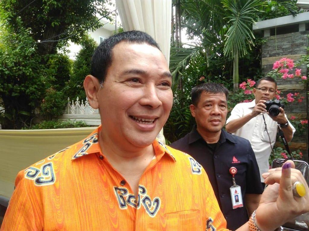 Tommy Soeharto dan Didit Prabowo Nyoblos di TPS Cendana
