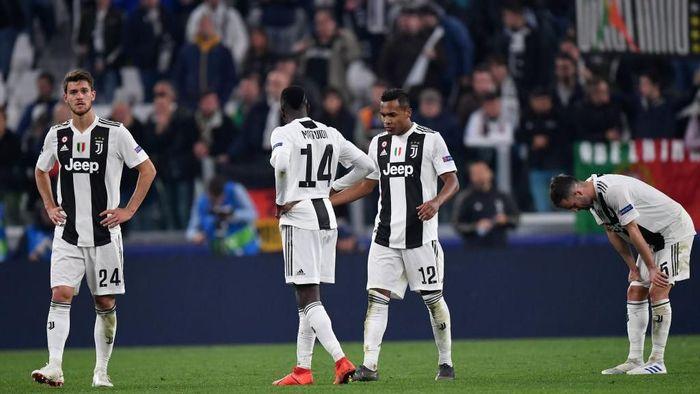 Juventus tersingkir di perempatfinal Liga Champions. (Foto: Stuart Franklin/Getty Images)