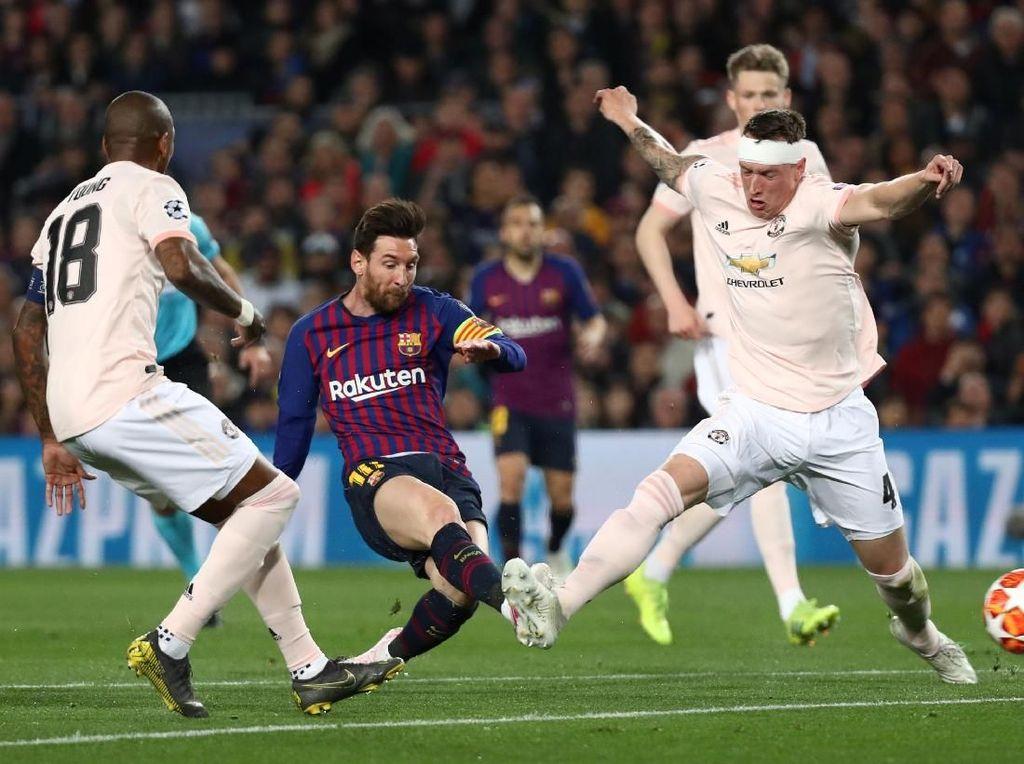 MU Didepak Barcelona, Mourinho: Makanya Kurung Messi
