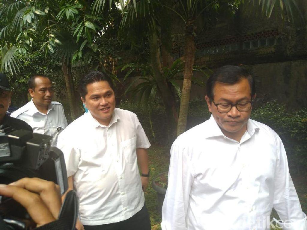 Pramono Anung dan Erick Thohir Merapat ke Kediaman Megawati