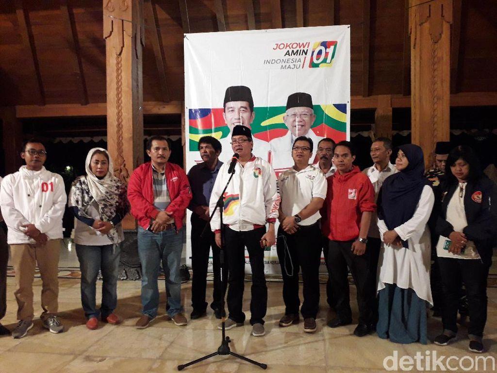 Yakin Jokowi Menang, TKD DIY Minta Pendukung Tak Pesta Pora
