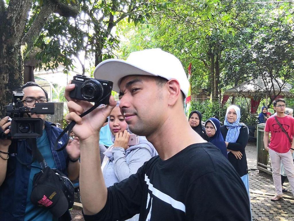 Nge-Vlog di Dinner Syahreino, Raffi Ahmad Kena Tegur Syahrini
