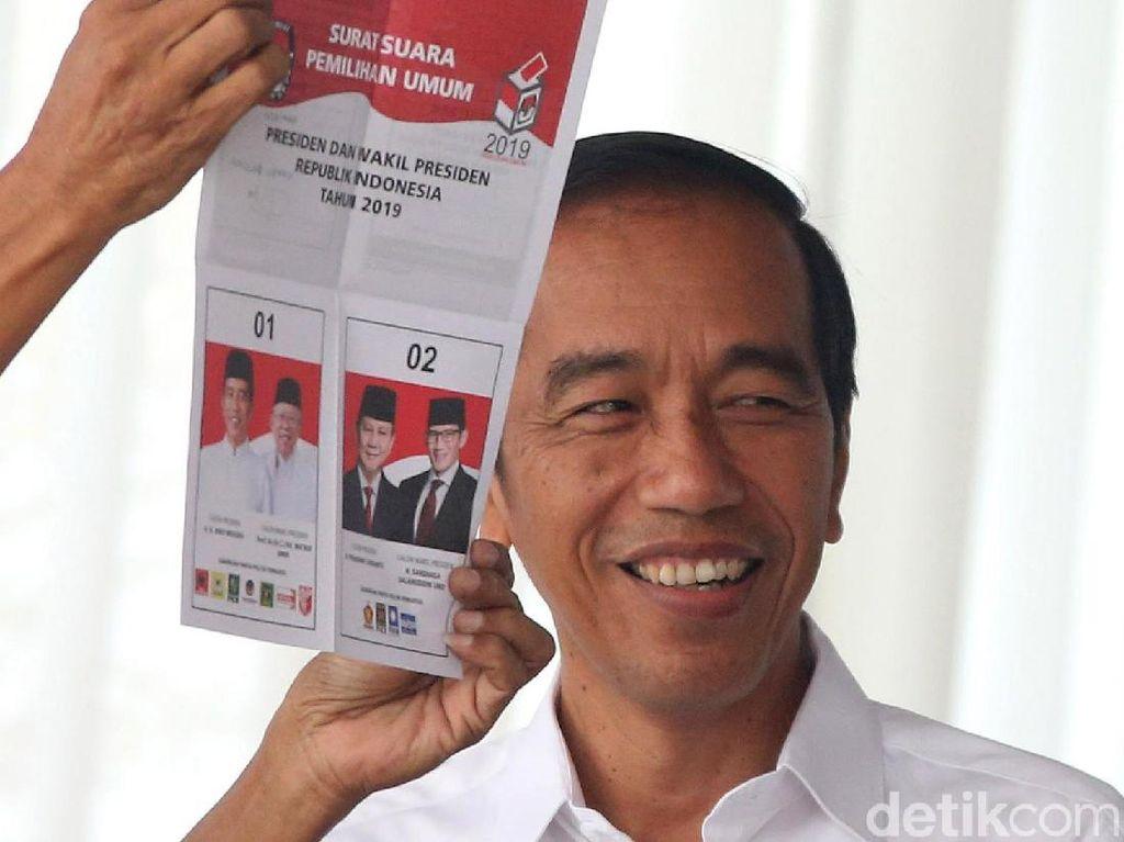 Quick Count Indo Barometer: Jokowi Menang Telak di Bali