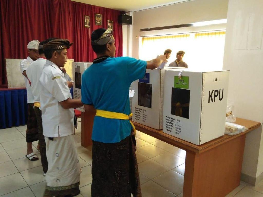 Jokowi-Maruf Amin Menang di Rumah Sakit Jiwa Bangli