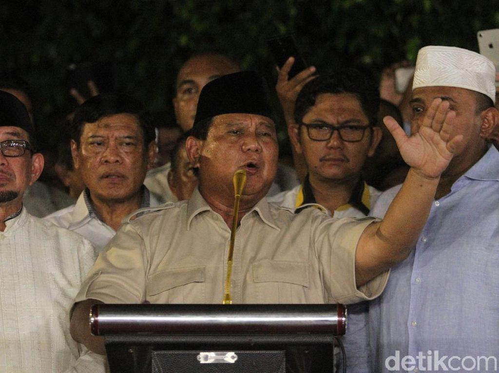 Quick Count Indo Barometer di Sumbar: Jokowi 9,55% Prabowo 90,45%