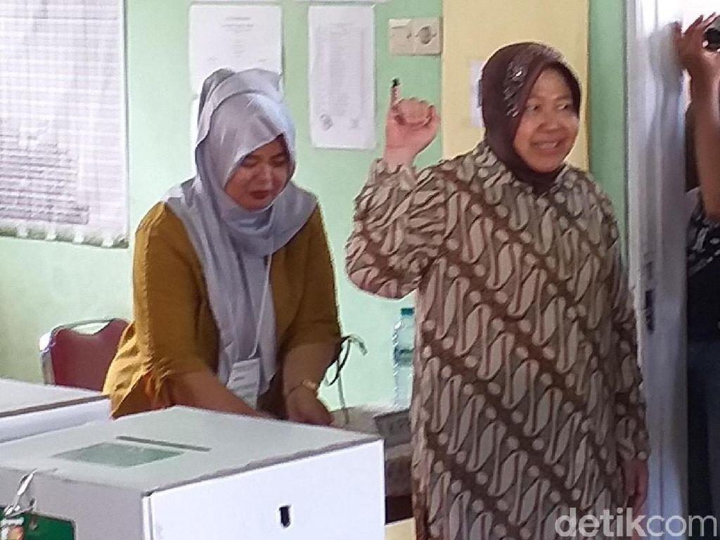 Risma: Mari Kita Terima dengan Lapang Dada Hasil Pemilu