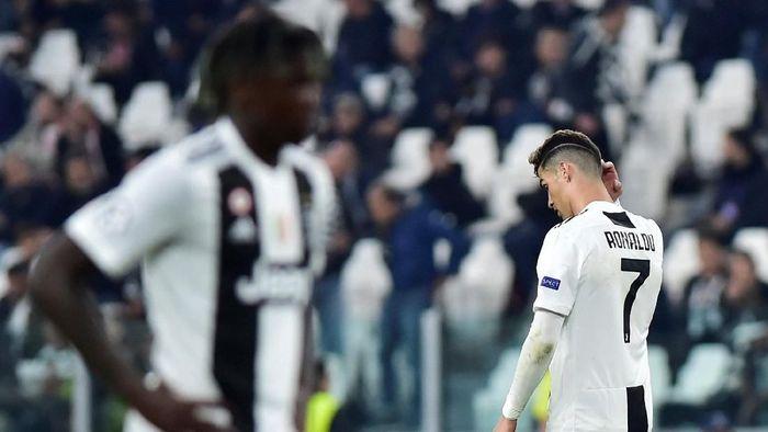 Cristiano Ronaldo dikabarkan akan meninggalkan Juventus lebih cepat. (Foto: Massimo Pinca/Reuters)