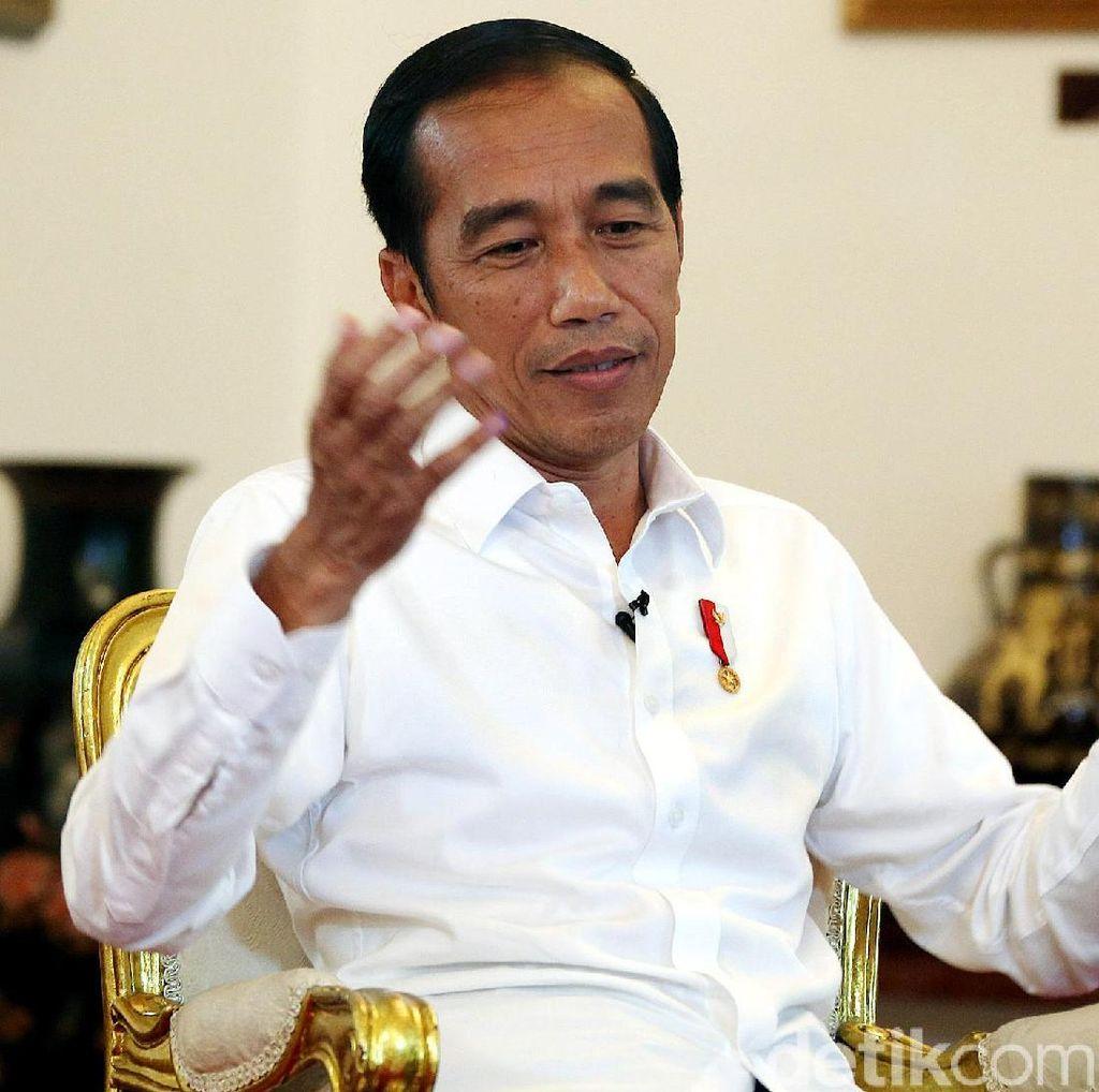 Ramal Ekonomi RI Tumbuh 5,05%, Jokowi: Bisa di Atas atau di Bawah