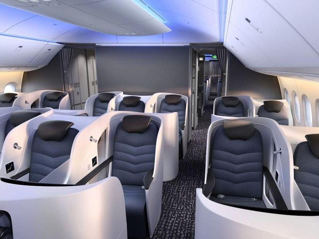 Futuristik! Begini Jeroan Pesawat Baru Boeing