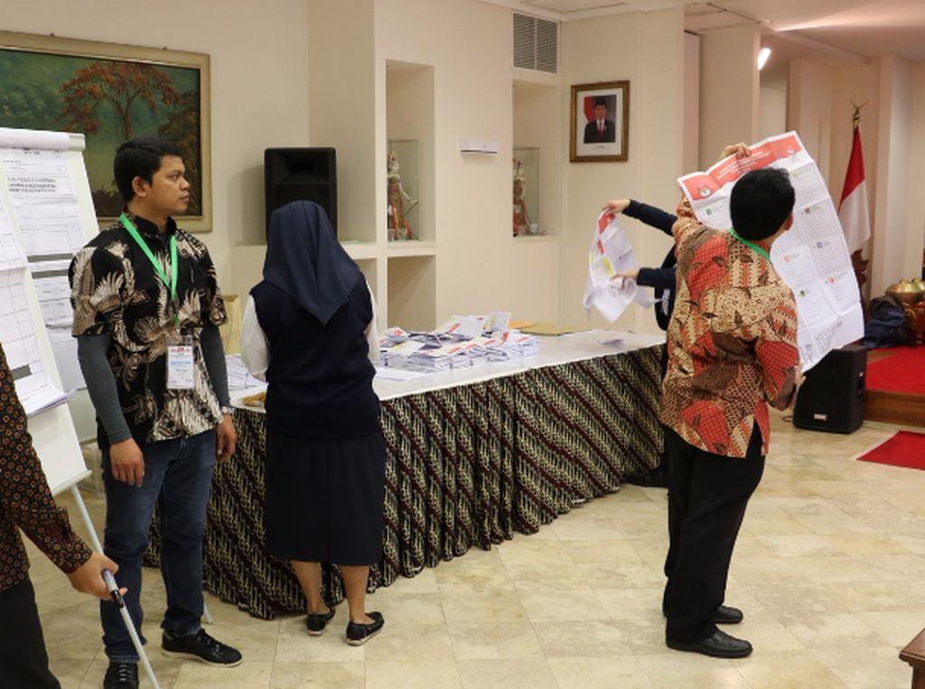 Jokowi-Maruf Unggul di Vatikan, Raup 99 Persen Suara