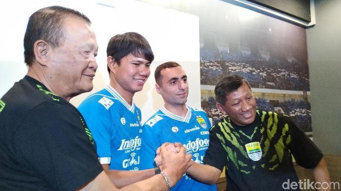 Persib Bandung merekrut Ahmad Jufrianto dan Artur Gevorkyan menjelang Liga 1 2019. (Mukhlis Dinillah/detikSport)