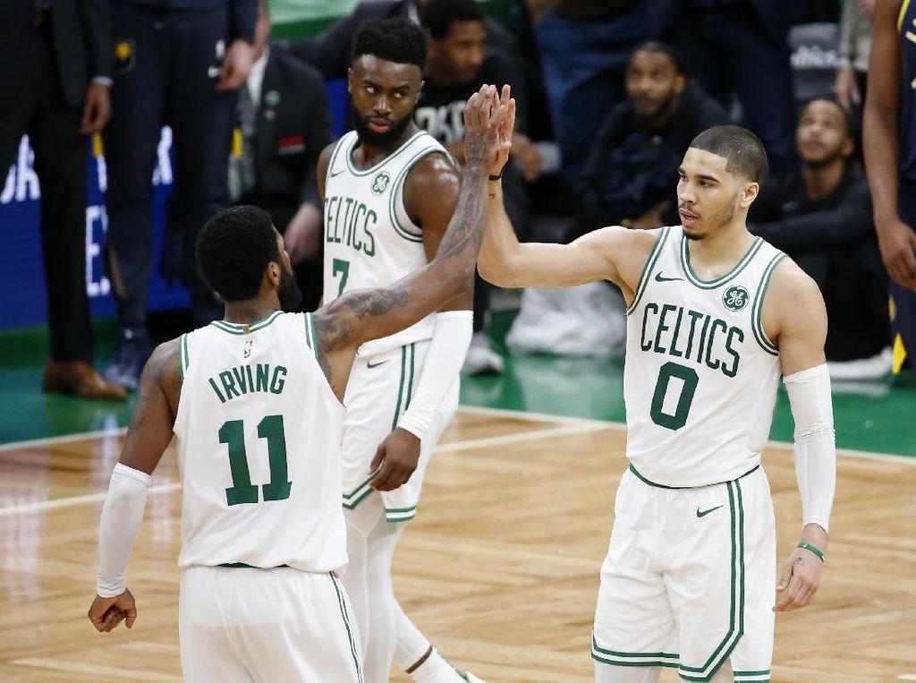Hasil NBA: Menangi Gim Kedua, Celtics Ungguli Pacers 2-0