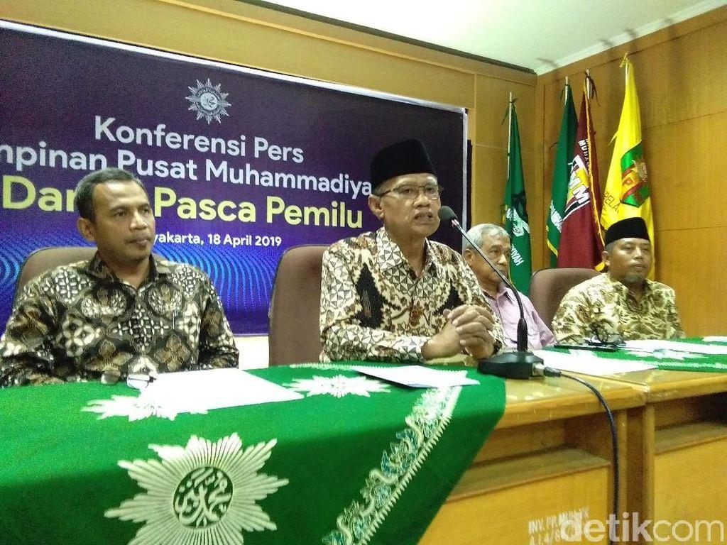 Muhammadiyah Siap Jadi Mediator Rekonsiliasi 2 Kubu Capres