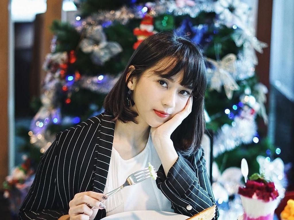 Ini Sasyachi, Selebgram Cute Saat Kulineran di Seoul hingga LA
