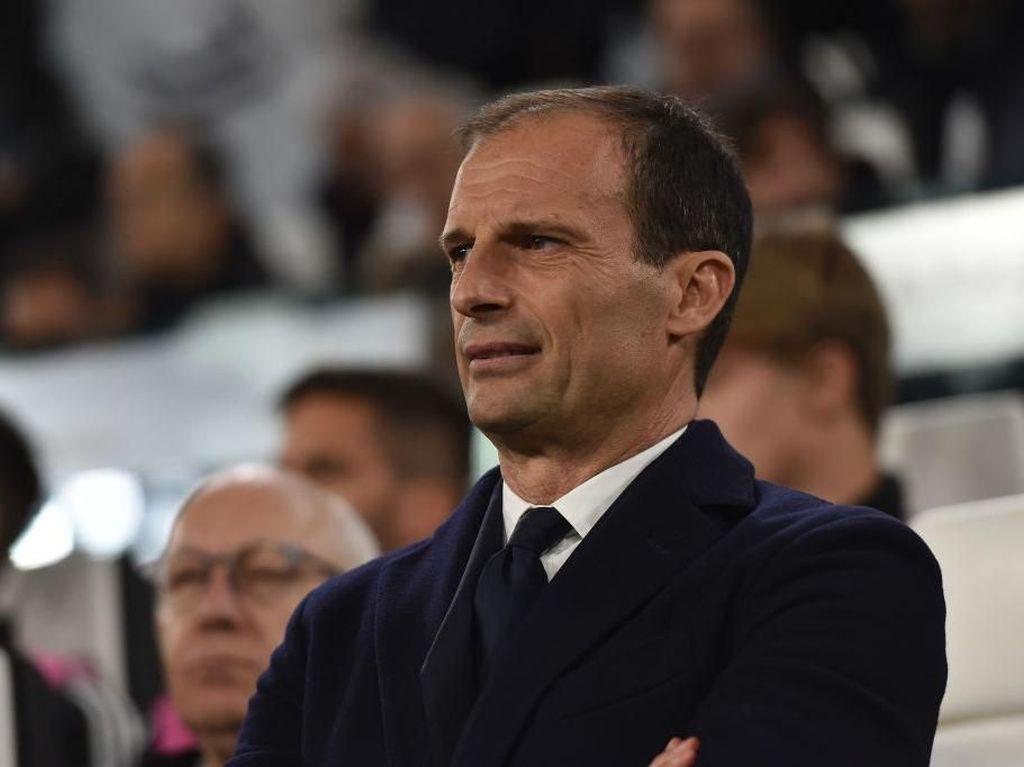 Gagal Lagi di Liga Champions, Allegri Singgung Prestasi Juventus