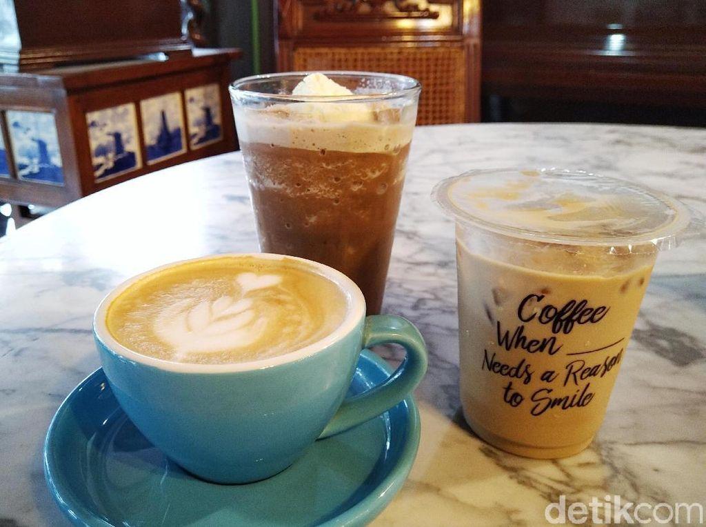 Bersantai di Kafe Jadul Bogor Sambil Minum Es Kopi Kekinian
